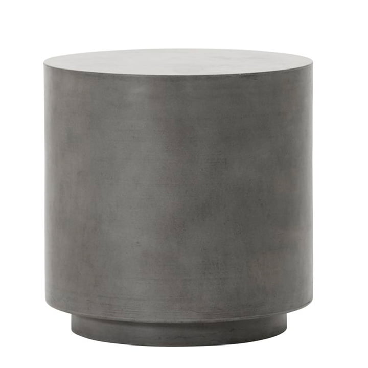 The Out concrete side table from House Doctor in grey, H 50 cm