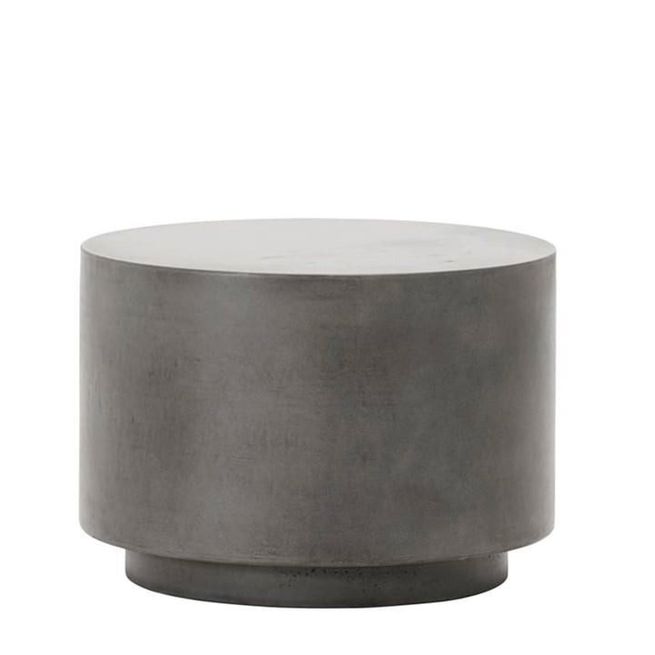 The Out concrete side table from House Doctor in grey, h 35 cm