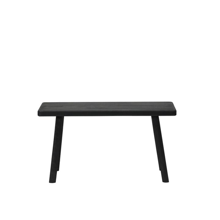 The Nadi bench from House Doctor in black, length 81 cm