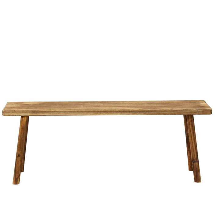 The Nadi bench from House Doctor in natural, length 120 cm