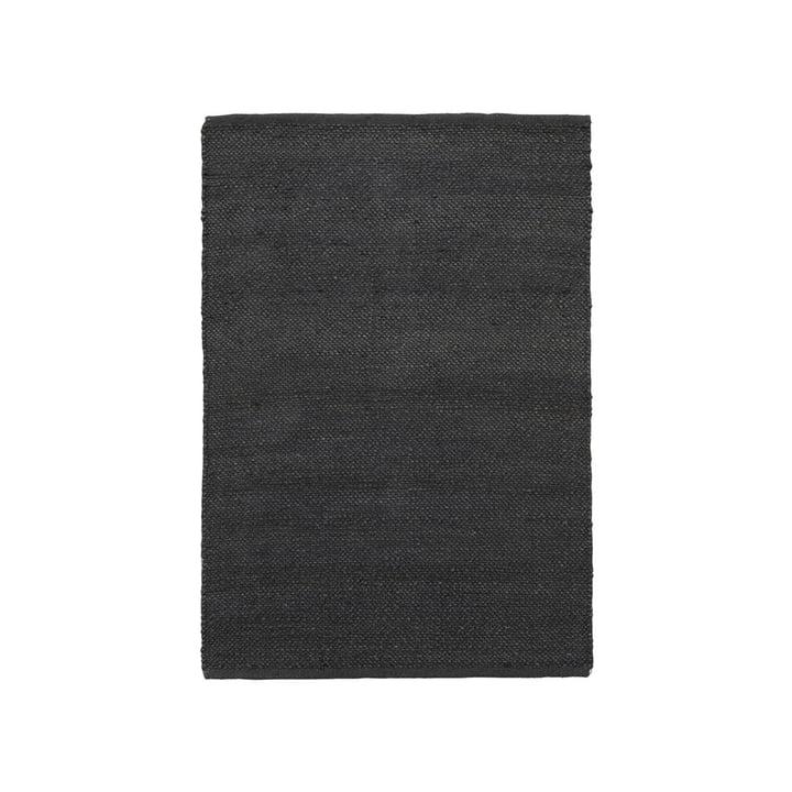 The Hempi carpet from House Doctor in black, 130 x 85 cm