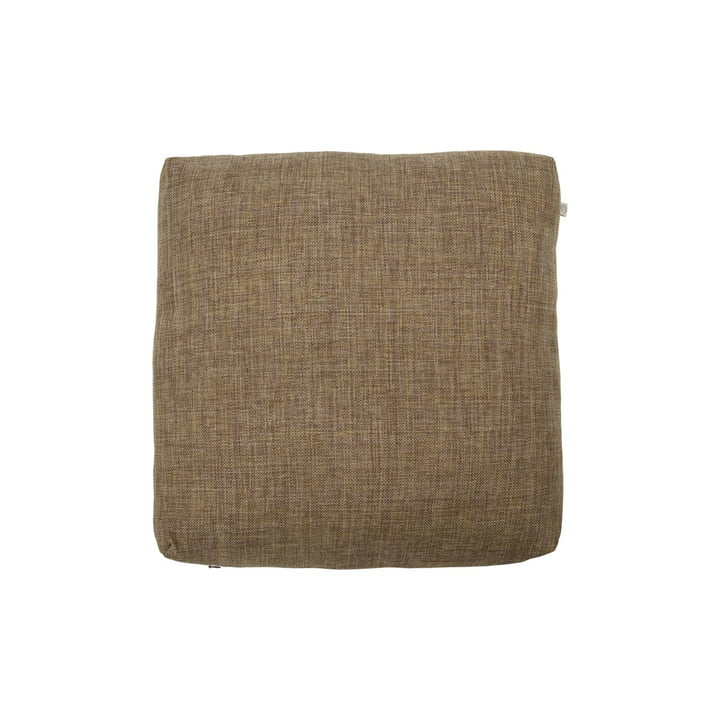 The Fine outdoor seat cushion from House Doctor in camel 45 x 45 cm