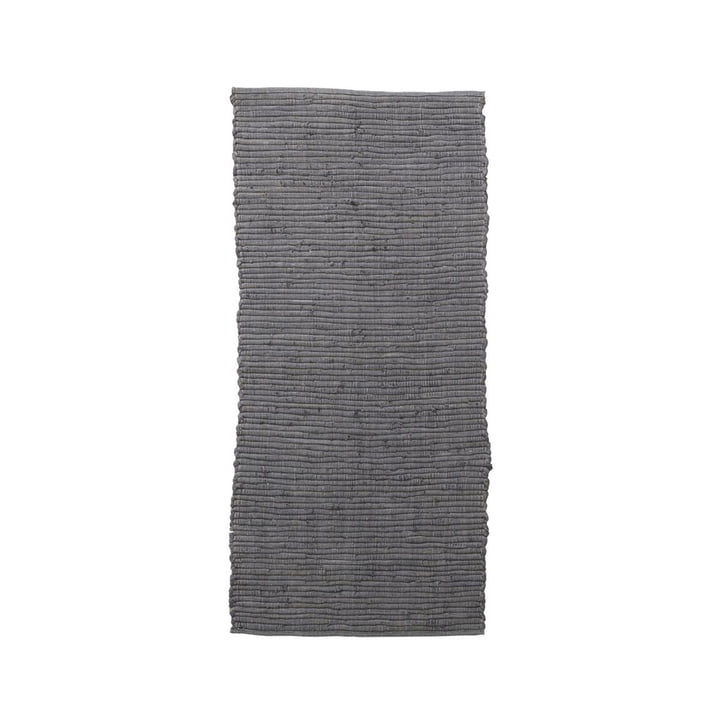 The Chindi carpet runner from House Doctor in grey, 160 x 70 cm