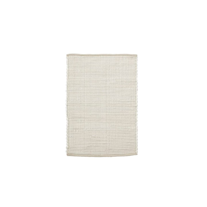 The Chindi carpet from House Doctor in white, 90 x 60 cm