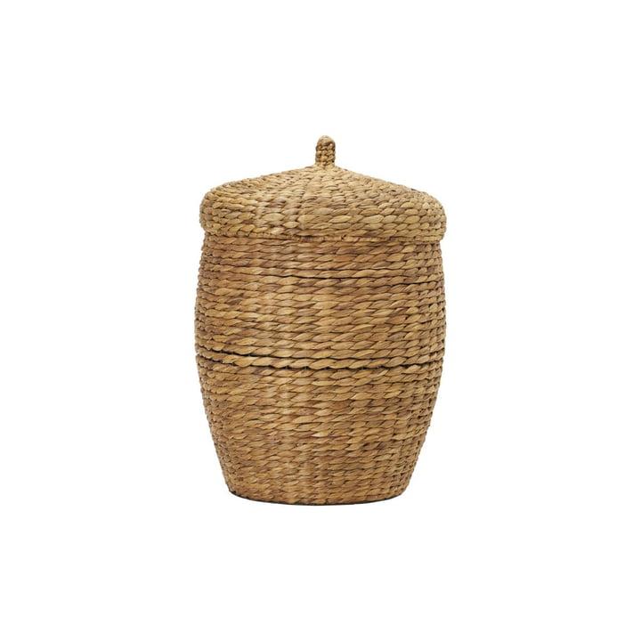 The Aske storage basket from House Doctor in natural, Ø 45 cm, H 60 cm