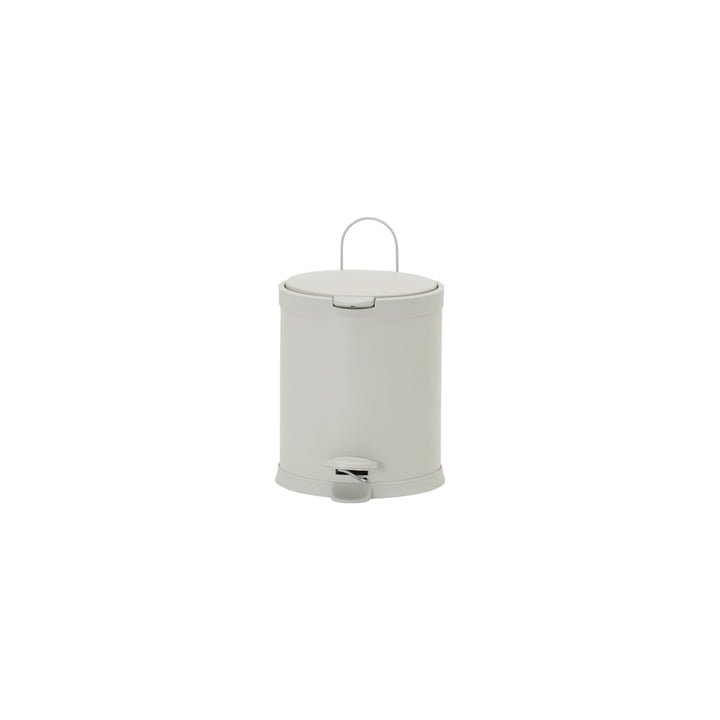 The waste bin Eda from House Doctor in ecru, Ø 30 cm, H 31 cm