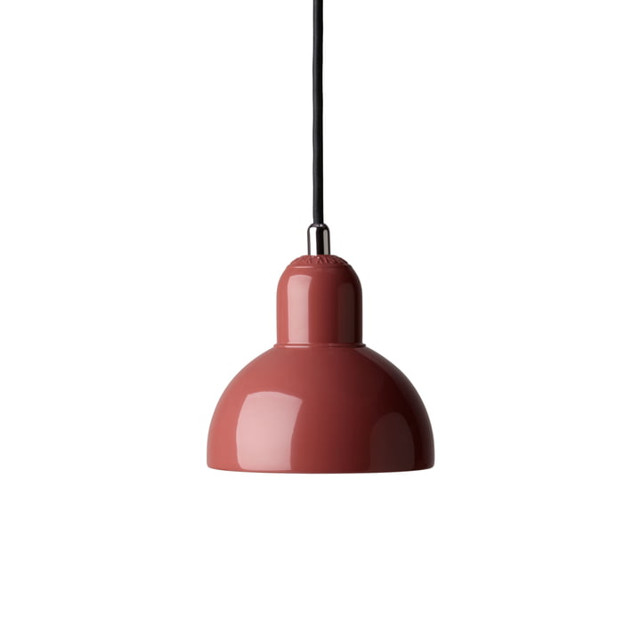 6722 Pendant luminaire from KAISER ideal in russet red