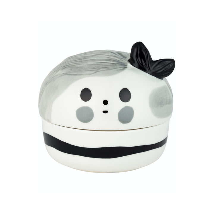 The Omppu Collectible by Marimekko in white / black / grey