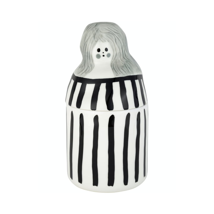 The Raita-Armi Collectible by Marimekko in white / black / grey