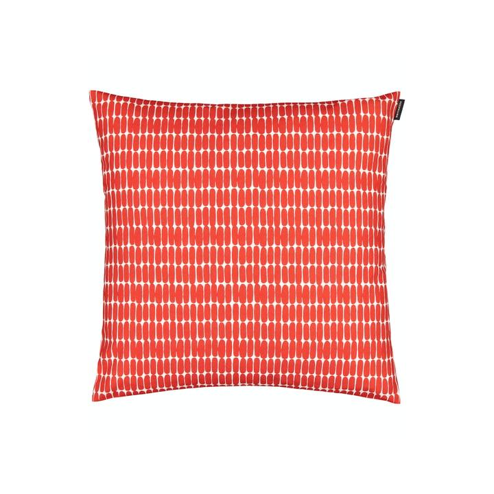 The Alku pillowcase by Marimekko, 45 x 45 cm, white / red