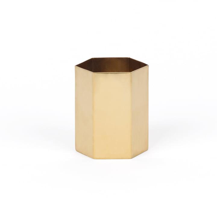Hex Pen holder, copper from Doiy