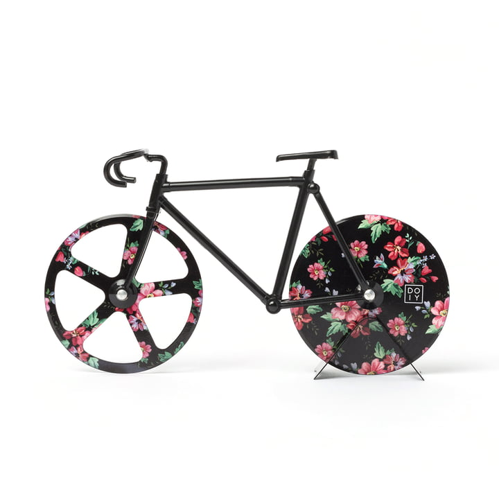 Fixie Pizza cutter, Wild Rose by Doiy
