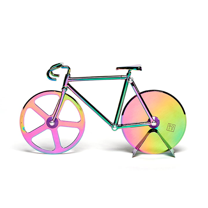 Fixie Pizza cutter, Irridescent by Doiy