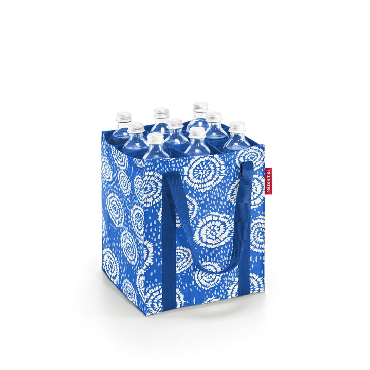 The bottlebag by reisenthel in batik strong blue ( Limited Edition )