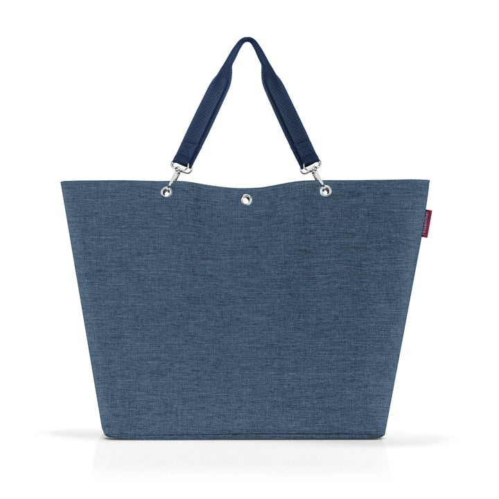 The Shopper XL from reisenthel in twist blue