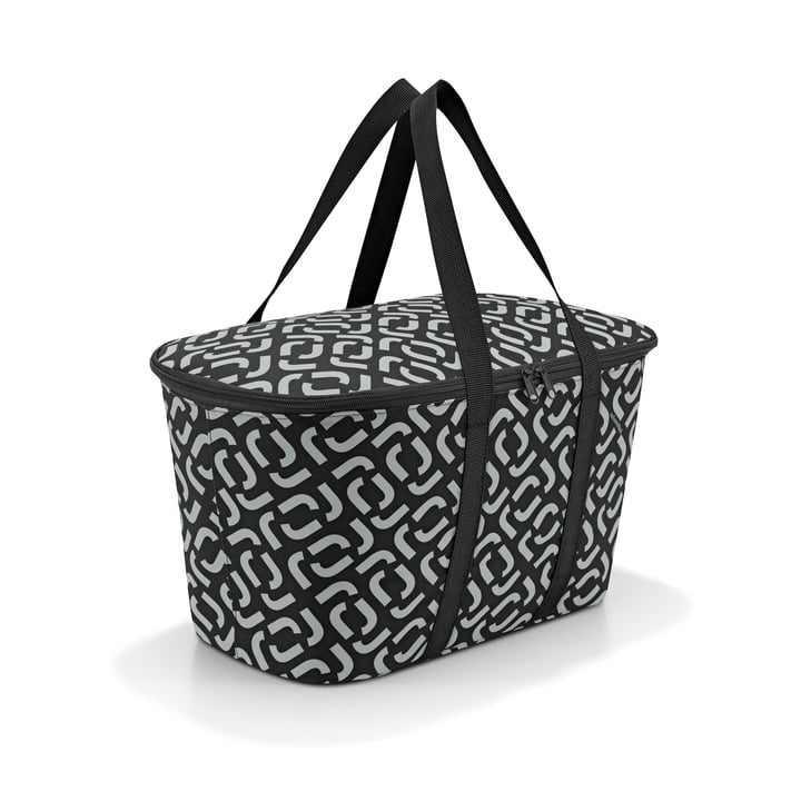 The coolerbag from reisenthel in signature black