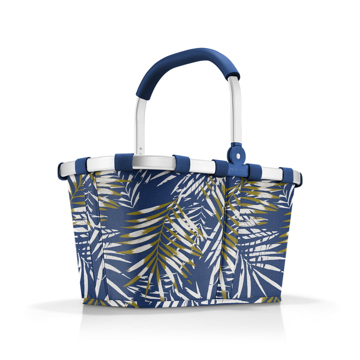 The carrybag by reisenthel in jungle space blue (Limited Edition)
