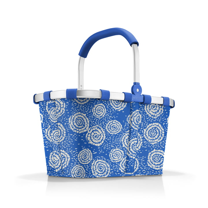 The carrybag by reisenthel in batik strong blue (Limited Edition)