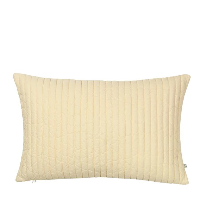 The Sena pillowcase from Broste Copenhagen in golden fleece, 40 x 60 cm