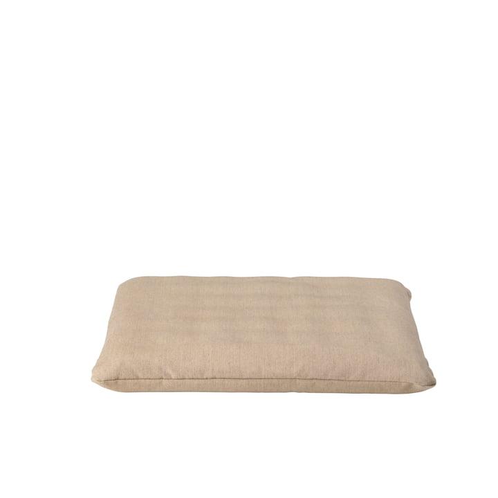 The cushion for Gerda from Broste Copenhagen in beige, 44 x 42 cm