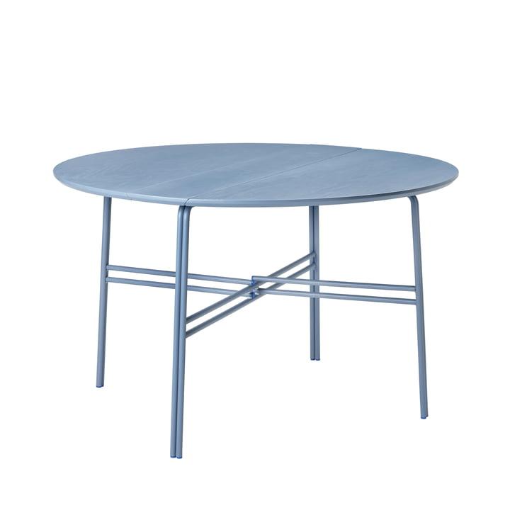 The Oda table from Broste Copenhagen in blue, Ø 120 cm