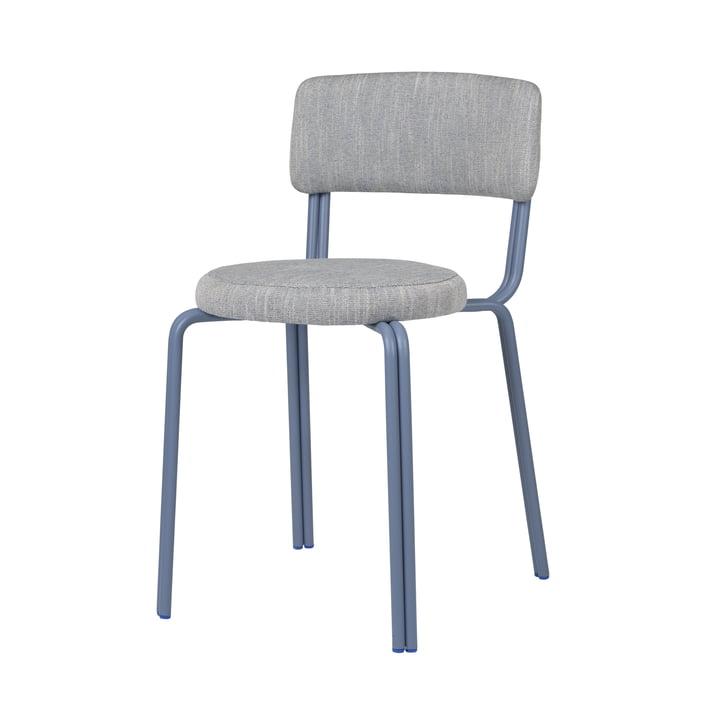The Oda chair from Broste Copenhagen in blue
