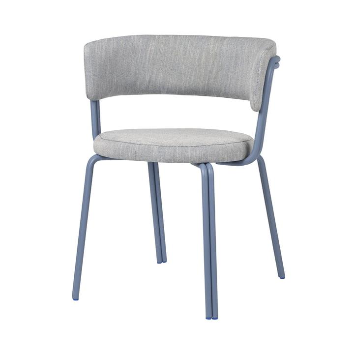 The Oda armchair from Broste Copenhagen in blue