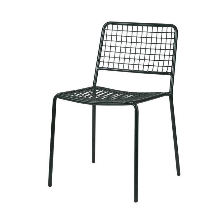 The Gerda chair Outdoor from Broste Copenhagen in deep forest