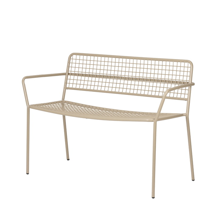 The Gerda Bank Outdoor from Broste Copenhagen in simply taupe