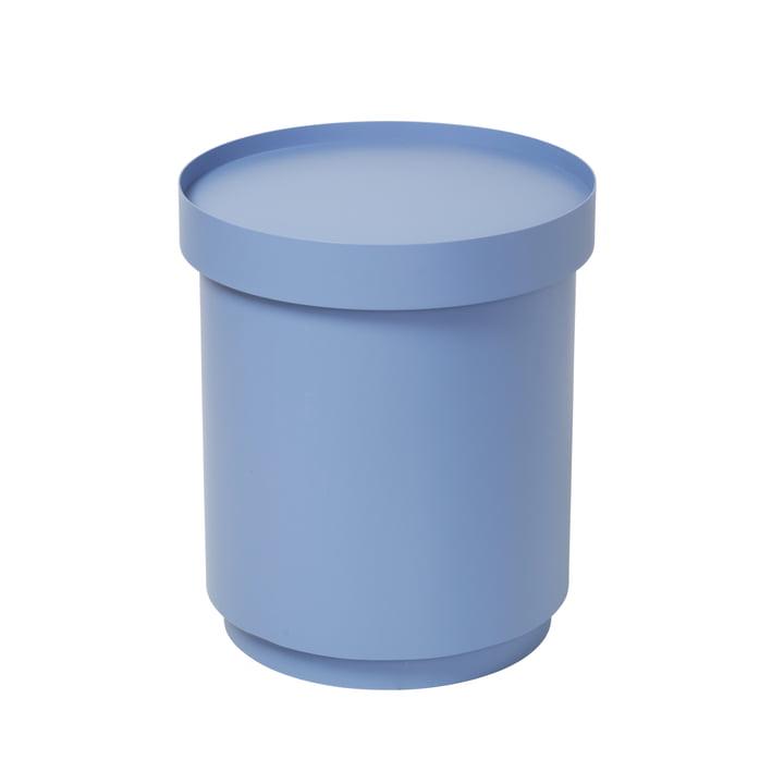 The Ninna side table from Broste Copenhagen in light blue, High