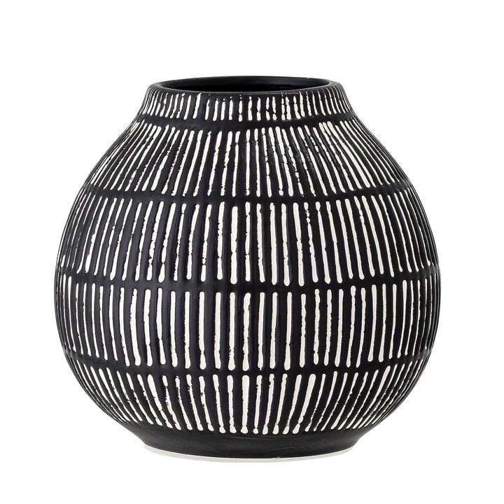 The Elceda vase from Bloomingville in black, H 14,5 cm