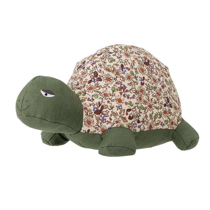 Halle Soft Cuddly toy turtle from Bloomingville in green