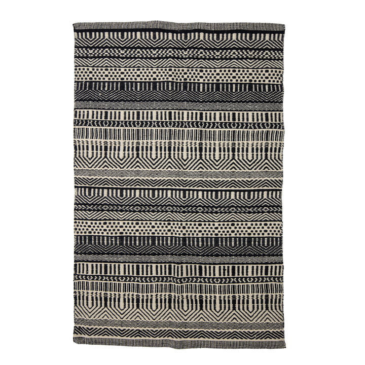 Joob Carpet, 180 x 120 cm from Bloomingville in black