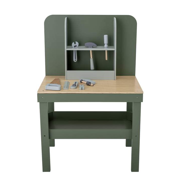 The Bubba children's workbench from Bloomingville in green