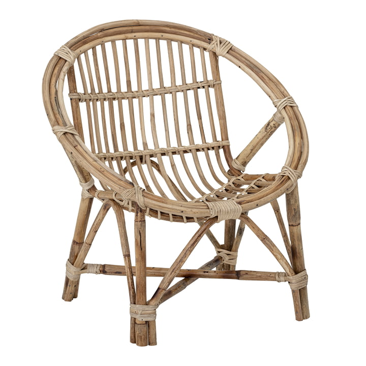 Jubbe children's chair from Bloomingville in nature