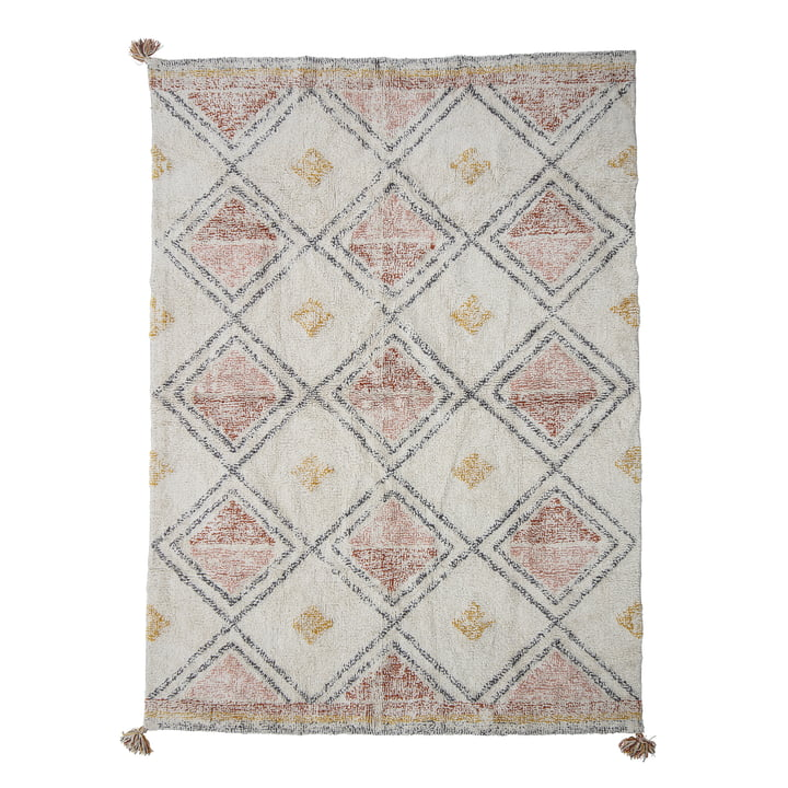 The Inka carpet from Bloomingville , 200 x 140 cm, colourful