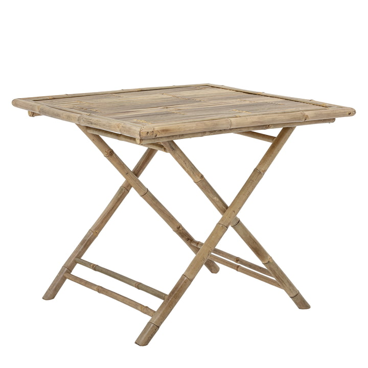 Sole Dining table 90 x 90 cm from Bloomingville in bamboo