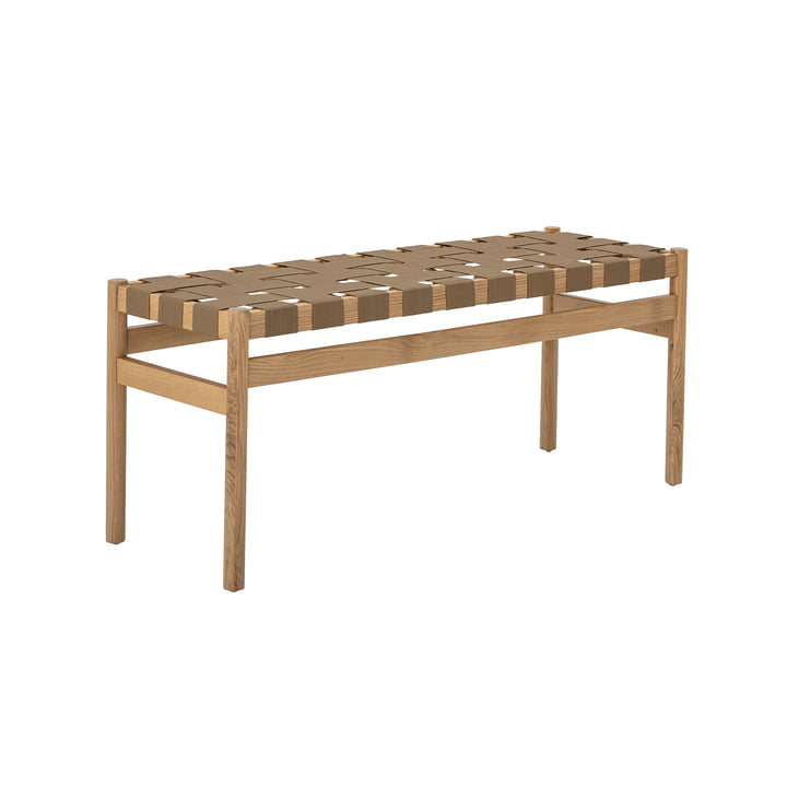 Roel Bench from Bloomingville in natural oak / brown