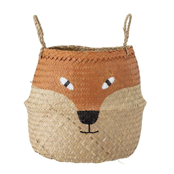 The Fritse basket from Bloomingville , Ø 35 cm, orange