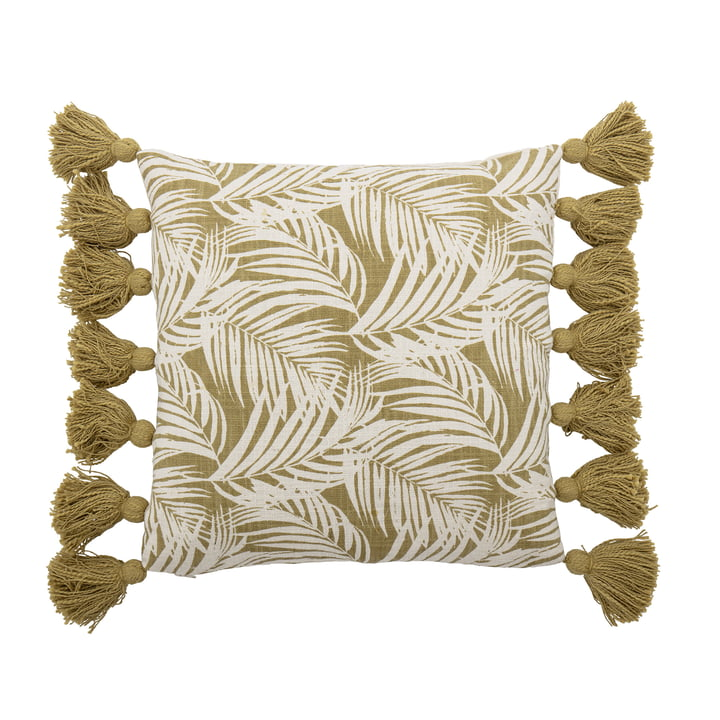 The Isser cushion from Bloomingville , 45 x 45 cm, green