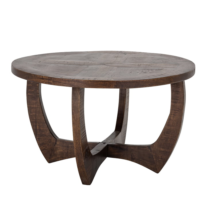 Jassy Coffee table Ø 75 x H 45 cm from Bloomingville in brown