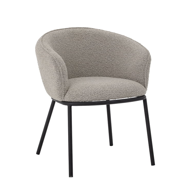Cortone Armchair from Bloomingville in grey