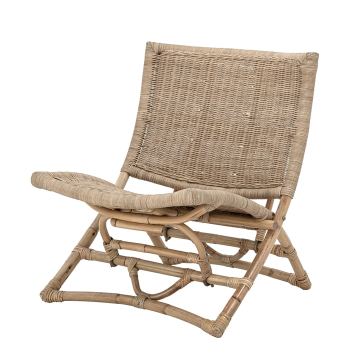 Baz Lounge Chair from Bloomingville in rattan nature