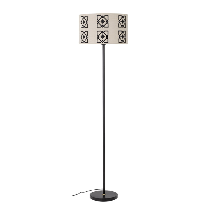 Selita Floor lamp from Bloomingville in black