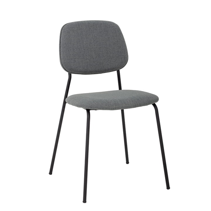 Corte Chair from Bloomingville in grey