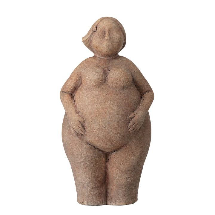 Sidsel Sculpture H 25 cm from Bloomingville in brown