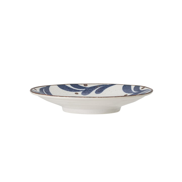 The Camellia plate deep from Bloomingville , Ø 16 cm, blue / white