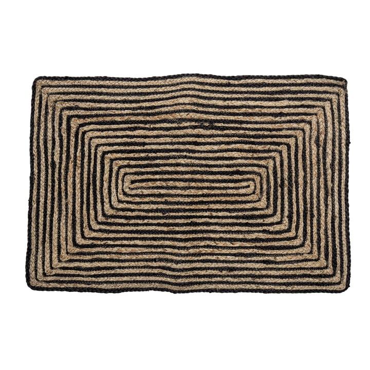 Bill Doormat 60 x 90 cm from Bloomingville in black