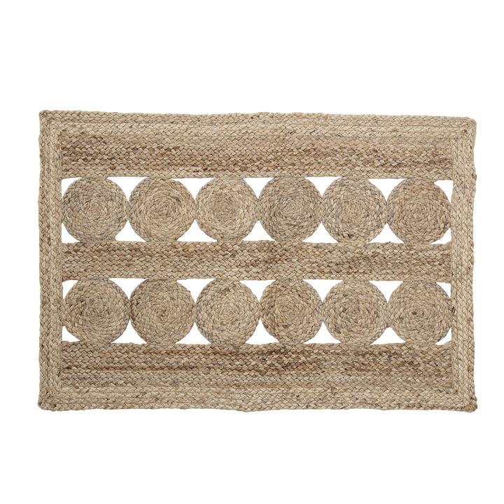 Nicko Doormat 60 x 90 cm from Bloomingville in brown