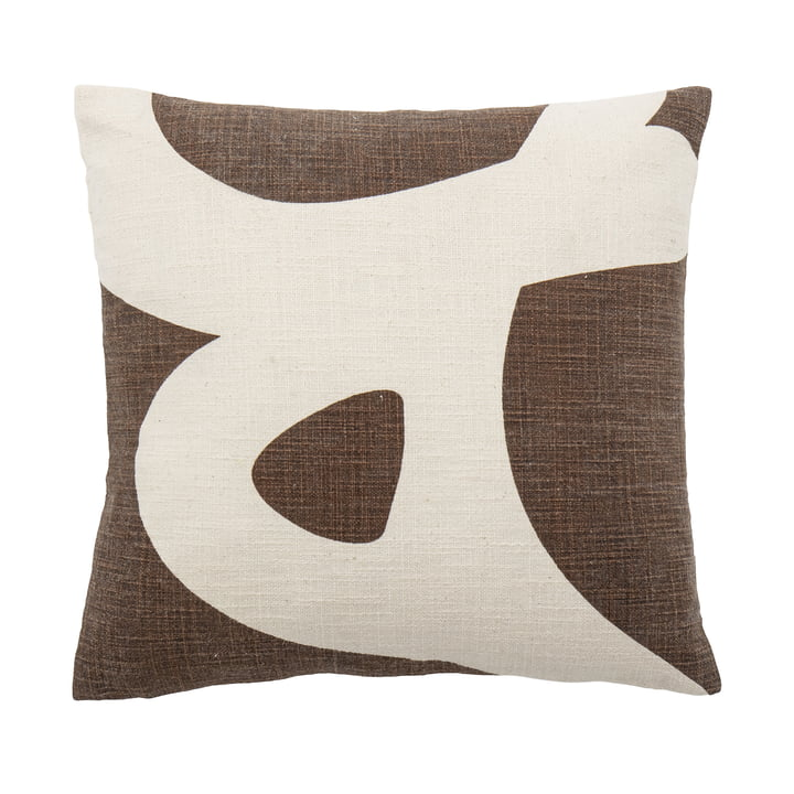 The Ebell cushion from Bloomingville , 40 x 40 cm, brown